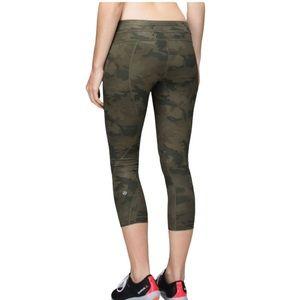 LULULEMON inspire crop Camo leggings
